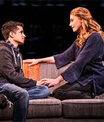 Jordan Fisher and Jessica Phillips (photo) in Dear Evan Hansen