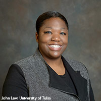 Dr. Alicia Odewale faculty photo, University of Tulsa