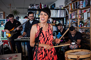 Gina Chavez performs on NPR's Tiny Desk Concert series