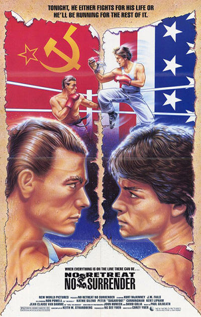 No Retreat, No Surrender (1986) film poster