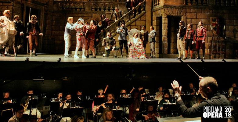 Portland Opera presents Verdi's RIGOLETTO | Portland Opera 2018 Season | May 4 - May 12, 2018 | Playing at: The Portland'5 Keller Auditorium