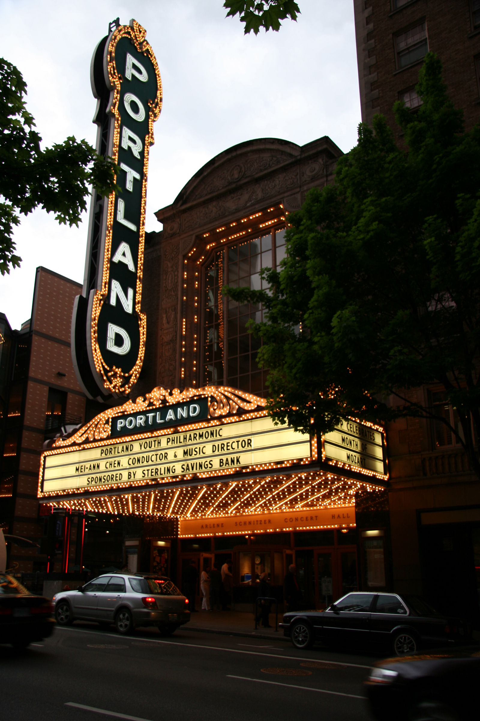 Arlene Schnitzer Concert Hall Photos Portland - Schnitzer concert hall portland