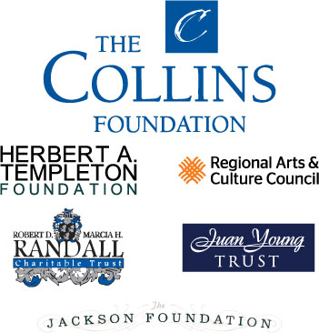 The Portland'5 Foundation is supported with grants from The Collins Foundation, Herbert A. Templeton, Regional Arts and Culture Council, Randall Charitable Trust, Juan Young Trust, Jackson Foundation