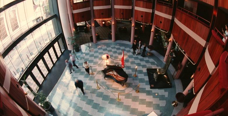 Antoinette Hatfield Hall Rotunda Lobby - Photo credit: David Barss