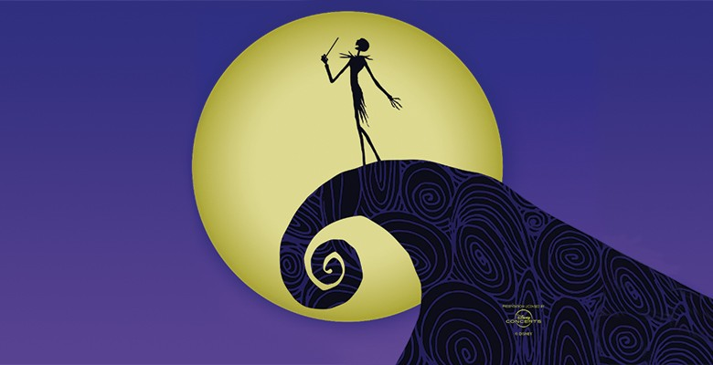 Oregon Symphony presents DISNEY TIM BURTON'S THE NIGHTMARE BEFORE CHRISTMAS | Feature film with Oregon Symphony | 2021/22 Season | October 23 - October 24, 2021 | Playing at: The Portland'5 Arlene Schnitzer Concert Hall