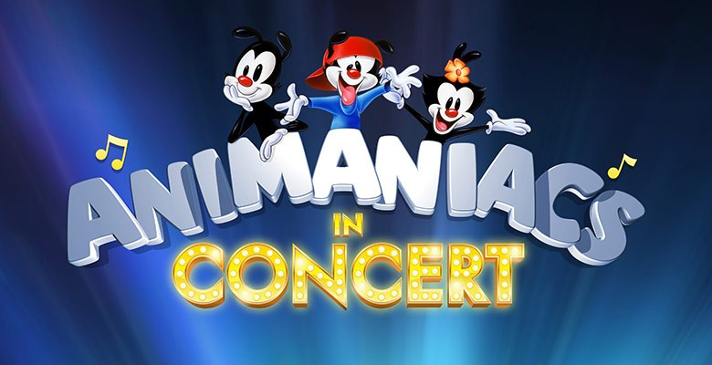 Portland'5 presents ANIMANIACS IN CONCERT Starring Randy Rogel and Rob Paulsen | Saturday, January 12, 2019, 7:30pm | Playing at: The Portland'5 Newmark Theatre