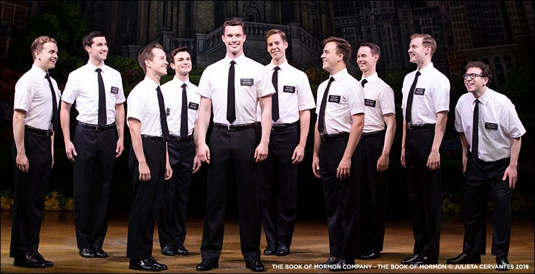 Broadway in Portland presents THE BOOK OF MORMON | Season Option - 2019/20 Broadway in Portland Season | May 12 - May 17, 2020 | Playing at: The Portland'5 Keller Auditorium