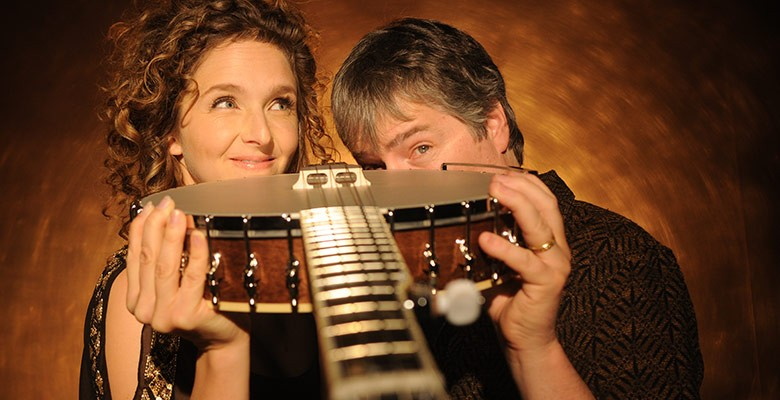Portland'5 presents BÉLA FLECK AND ABIGAIL WASHBURN | Thursday, February 20, 2020, 7:30pm | Playing at: The Portland'5 Newmark Theatre