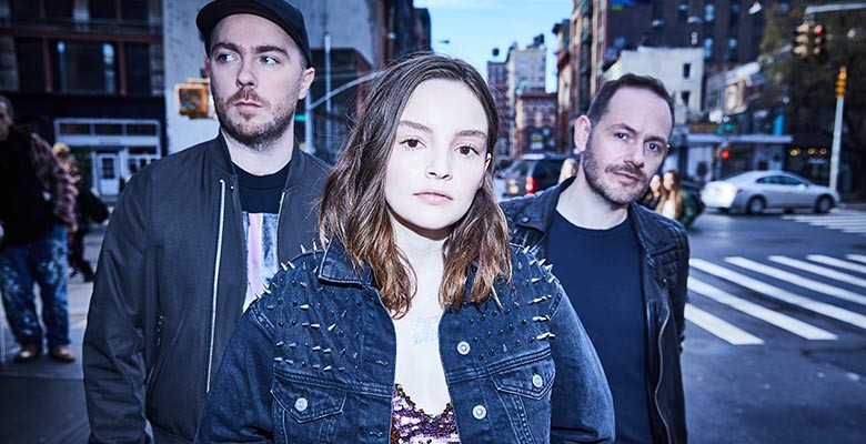 Monqui presents CHVRCHES | Wednesday, September 26, 2018, 8:00pm | Playing at: The Portland'5 Arlene Schnitzer Concert Hall