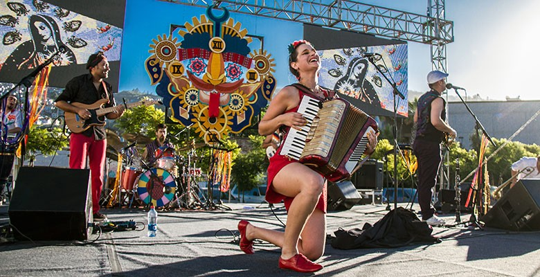 Portland'5 and the ArtBar & Bistro present MUSIC ON MAIN: PASCUALA ILBACA Y FAUNA | Wednesday, July 11, 2018, 5:00pm | Playing at: Main Street | FREE