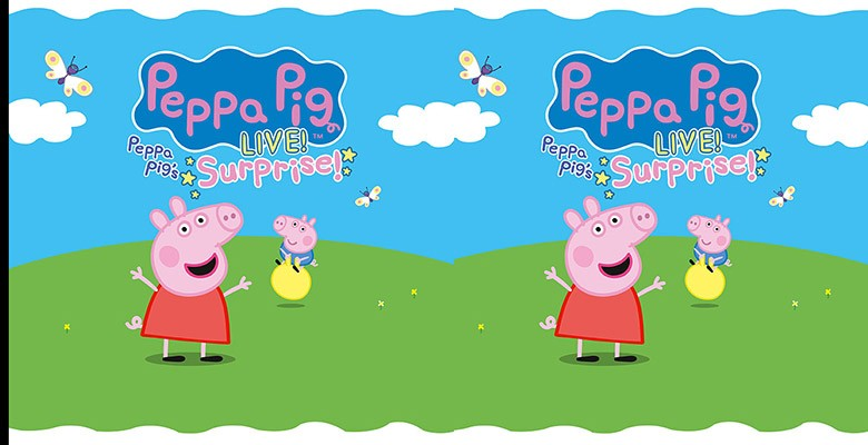 True West presents PEPPA PIG LIVE! Peppa Pig's Surprise  | Tuesday, April 10, 2018, 6:00pm | Playing at: The Portland'5 Arlene Schnitzer Concert Hall
