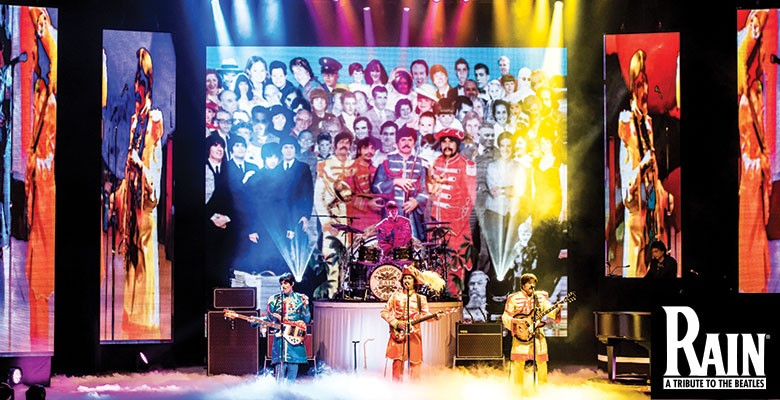 Portland'5 Centers for the Arts presents RAIN - A TRIBUTE TO THE BEATLES | Celebrating the 50th Anniversary of Sgt Pepper's Lonely Hearts Club Band! | April 17 - April 18, 2018 | Playing at: The Portland'5 Keller Auditorium