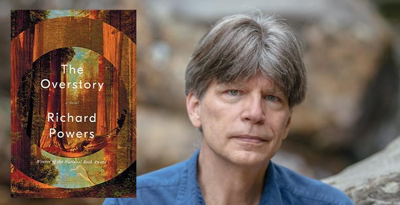 Richard Powers photo | Literary Arts presets 2021/22 PORTLAND ARTS & LECTURES: RICHARD POWERS | Thursday, April 21, 2022, 7:30pm | Arlene Schnitzer Concert Hall