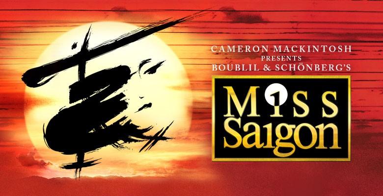 Broadway in Portland presents MISS SAIGON | 2019/20 Broadway in Portland Season | November 5 - November 10, 2019 | Playing at: The Portland'5 Keller Auditorium