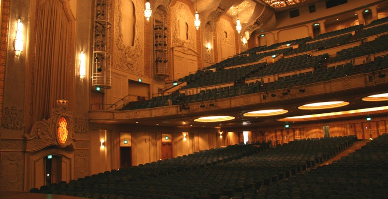 Arlene Schnitzer Concert Hall Seating