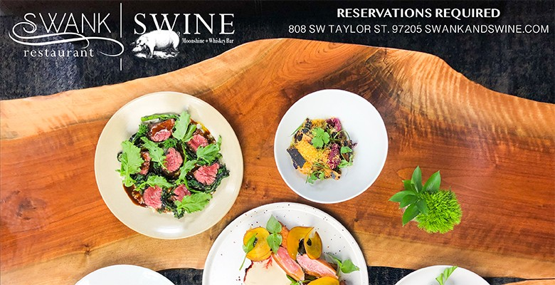 Swank Restaurant | Swine Moonshine & Whisky Bar | Located in the Paramount Hotel