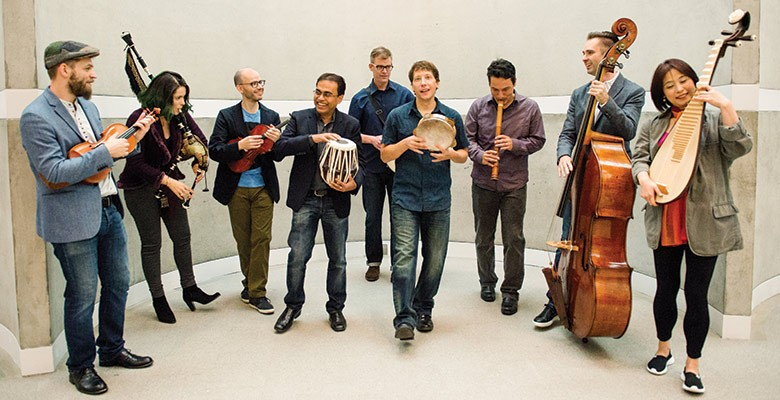 Portland'5 presents SILKROAD ENSEMBLE | Monday, February 4, 2019, 7:30pm | Playing at: The Portland'5 Newmark Theatre
