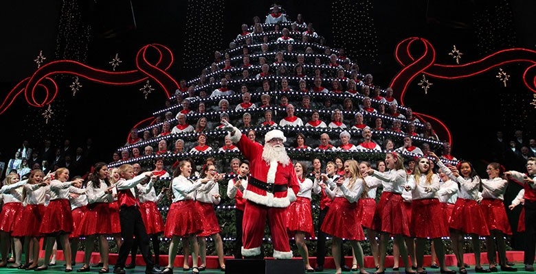 PORTLAND'S SINGING CHRISTMAS TREE - Where Christmas Comes Alive! | November 23 - December 2, 2018 | Playing at: The Portland'5 Keller Auditorium