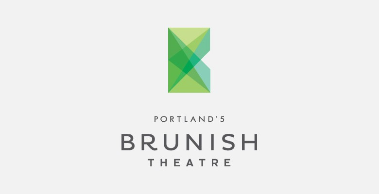 The Portland'5 Brunish Theatre logo