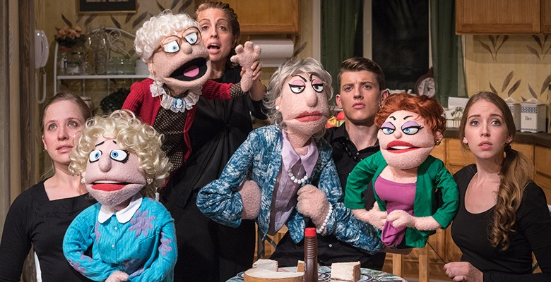 That Golden Girls Show! image with puppets and title art
