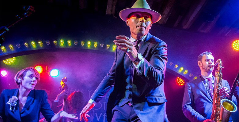 Portland'5 presents THE HOT SARDINES (photo) | Sunday, November 24, 2019, 7:30pm | Playing at: The Portland'5 Newmark Theatre