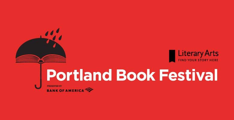 Portland Book Festival logo