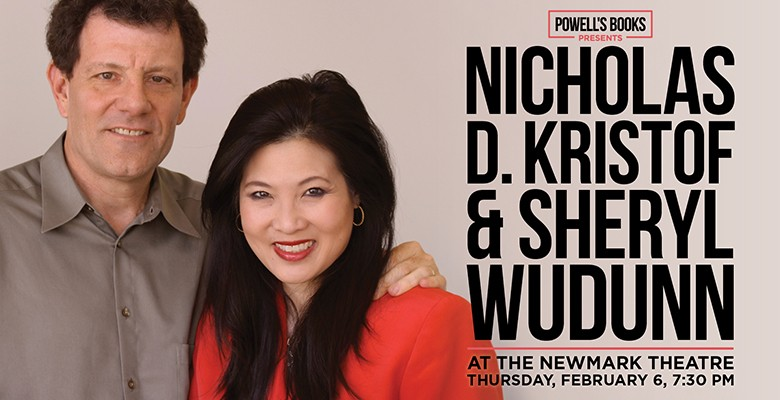 Nicholas D. Kristof and Sheryl WuDunn photo