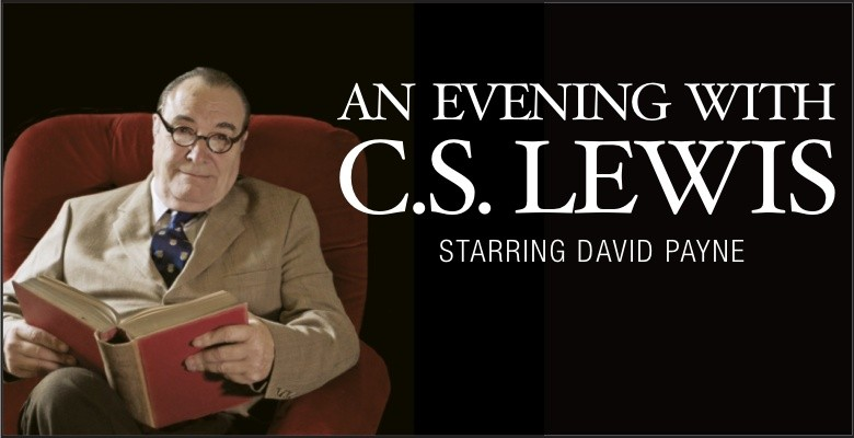 An Evening with C.S. Lewis - photo of David Payne as C.S. Lewis