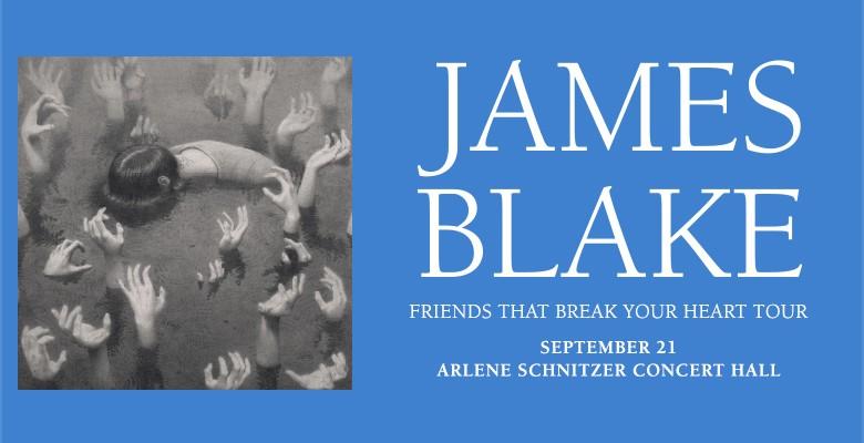 James Blake tour image