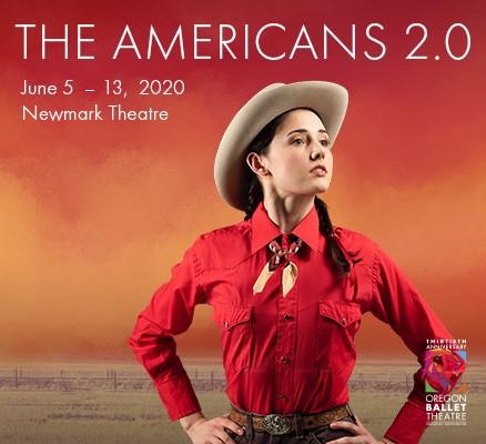 Oregon Ballet Theatre   The Americans 2.0   Photo of dancer in western attire