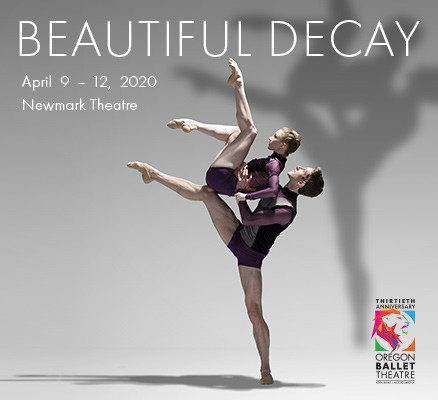 Oregon Ballet Theatre | Beautiful Decay | Photo of two dancers
