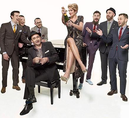 The Hot Sardines (band photo)