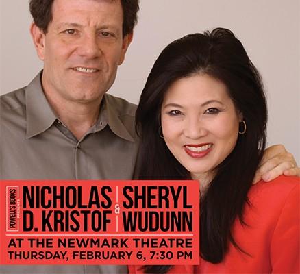 Nicholas D. Kristof and Sheryl WuDunn photo