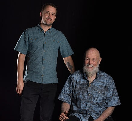 Terry Riley with Gyan Riley (photo) - Live at 85!