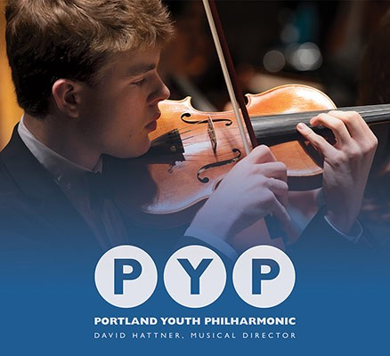 Portland Youth Philharmonic image. Photo of Nate Strothkamp