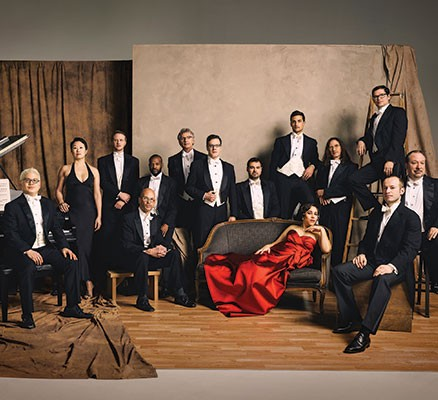 Pink Martini group photo