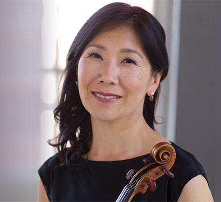 Photo: Concertmaster Sarah Kwak - Beethoven, Prokofiev & Tania León