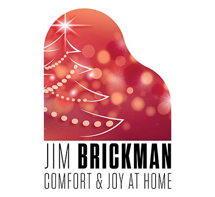 Jim Brickman Comfort & Joy At Home logo