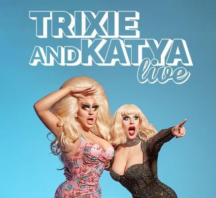 Trixie and Katya photo