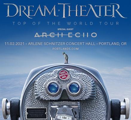 Dream Theatre tour image