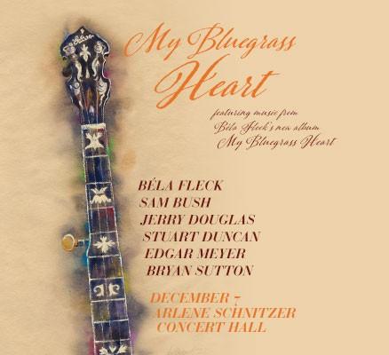 Bela Fleck My Bluegrass Heart tour art image