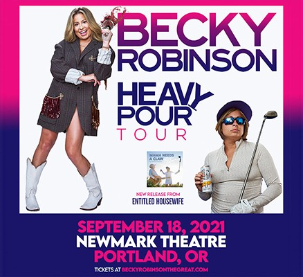 Becky Robinson Heavy Pour Tour image - photo of Becky
