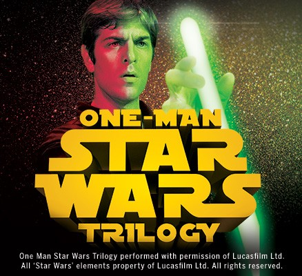 One-Man Star Wars Trilogy image