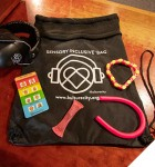 Photo: Sensory inclusive bag and contents
